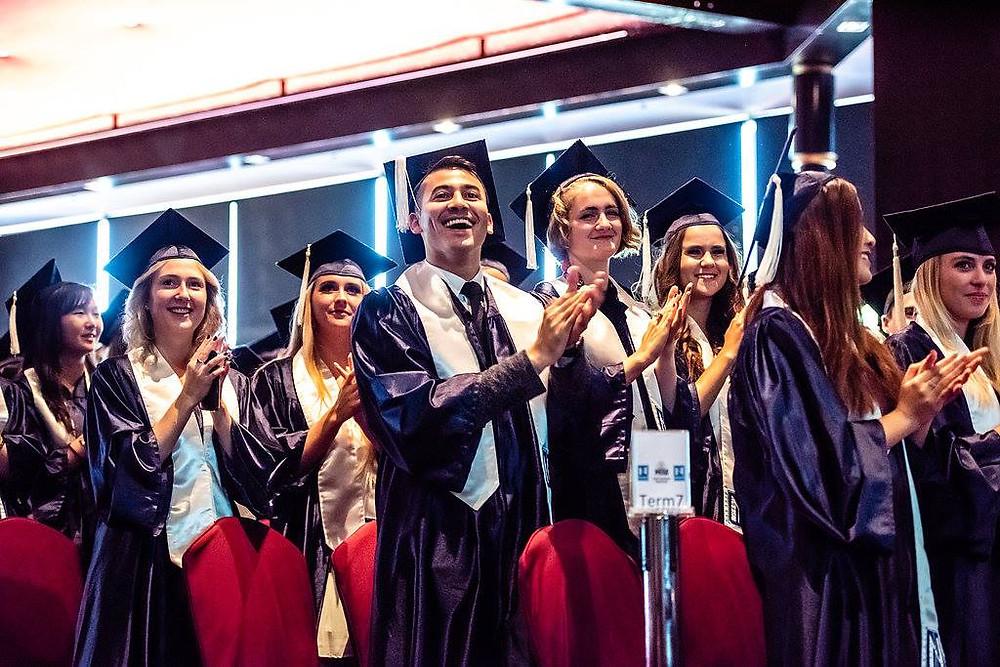 Graduation at Hotel Institute Montreux