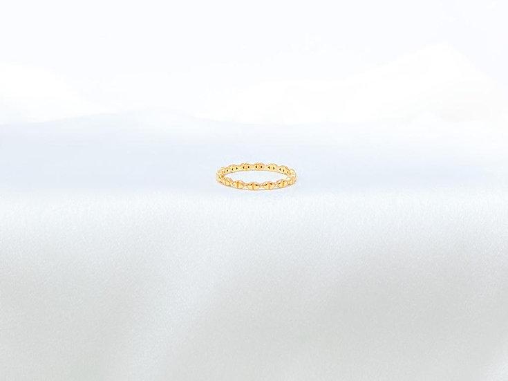 Anel Mini Laços - Ouro Amarelo
