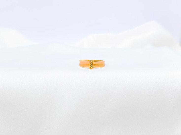 Anel Fivela - Ouro Amarelo