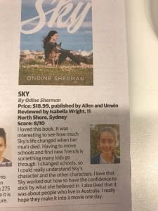 Reader review of Sky: Sunday Telegraph