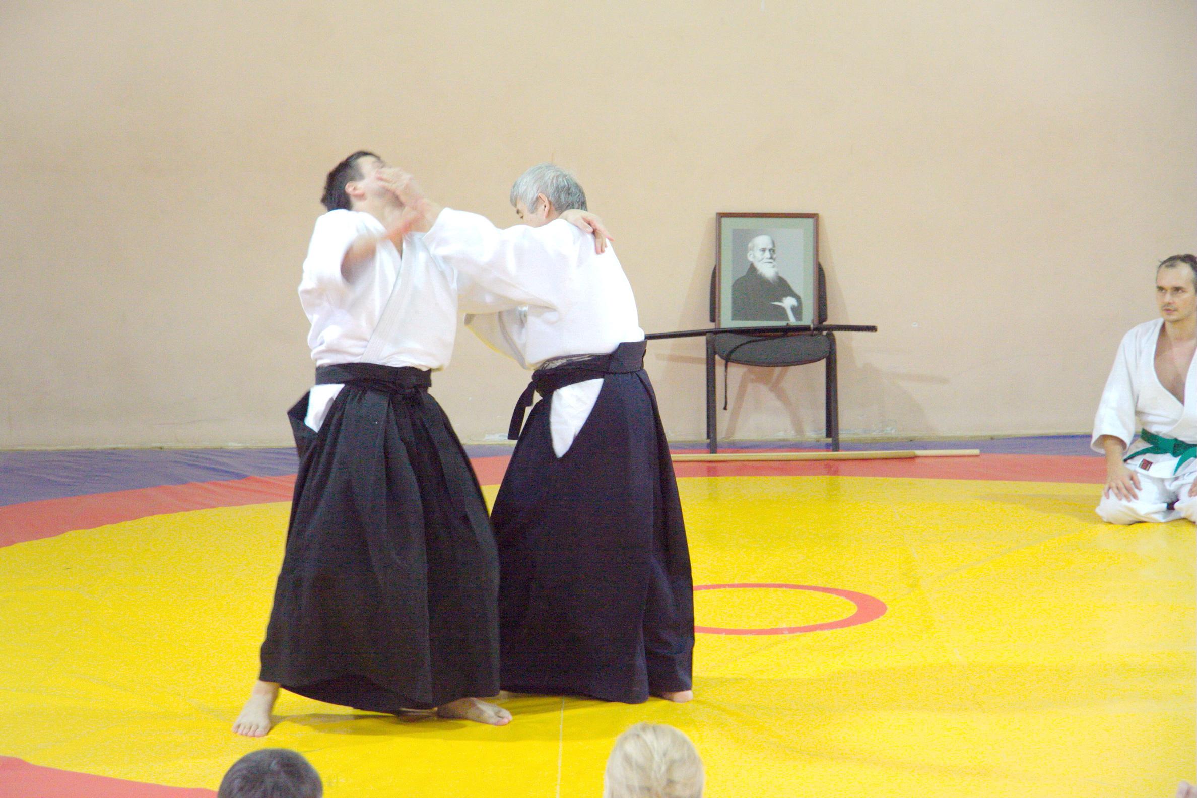 Семинар айкидо с Тоширо Суга
