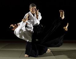 Toshiro Suga 7 dan aikido