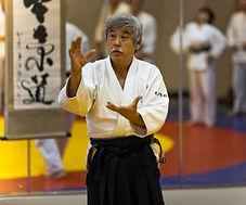 Toshiro Suga 7 dan aikido aikikai