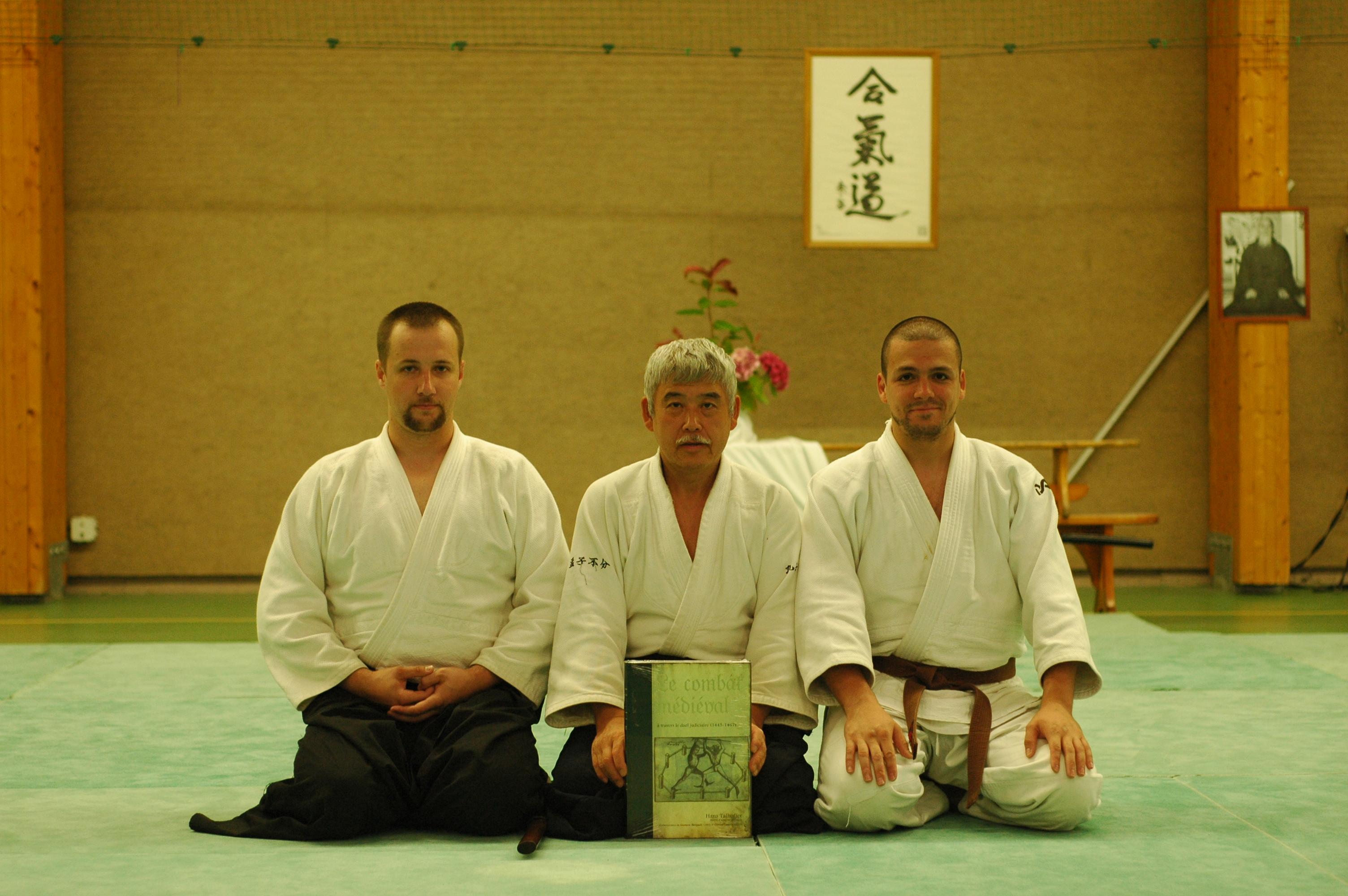 На семинаре айкидо во Франции