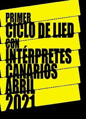 PRIMER CICLO DE LIED CON INTÉRPRETES CANARIOS.