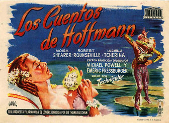"""Proyección de """"los cuentos de Hoffmann""""(1951)"""