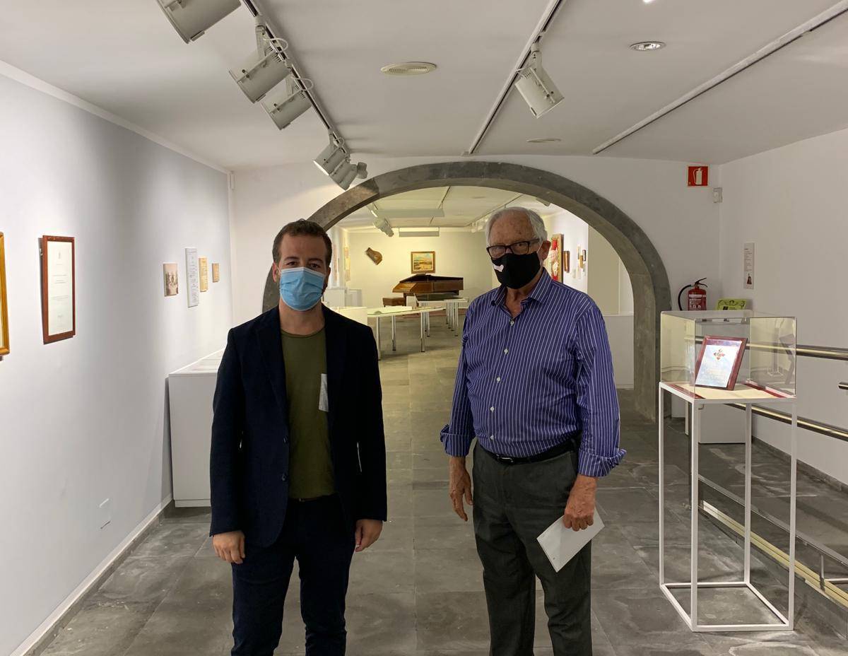 Visita del Viceconsejero de Cultura del Gobierno de Canarias