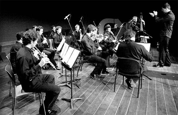 KAMMART ORQUESTA MARTA CARDONA AHUMADA, concertino MARCELO MERCADANTE, bandoneón