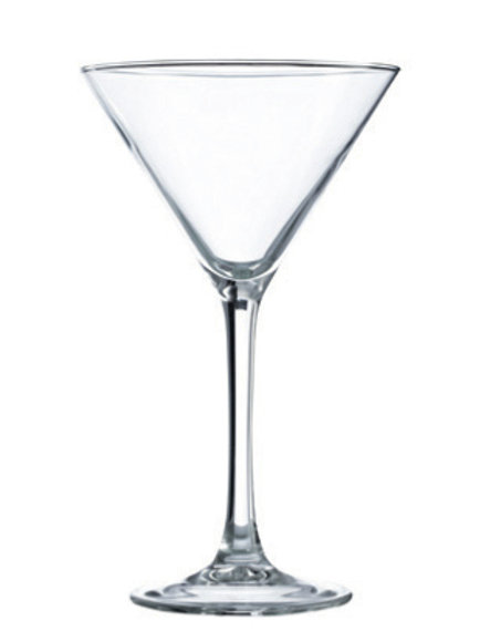 SET 6 COPAS COCKTAIL MARTINI 225ml/7.5oz