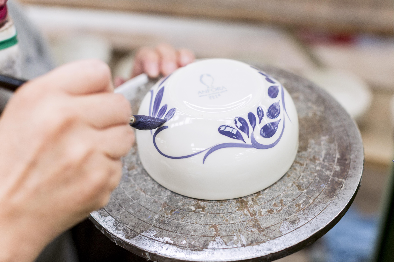 pintado a mano