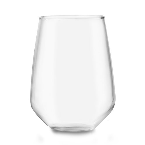 "SET 6 VASOS VINO MENCIA ""T"" 470ml/15.7oz"