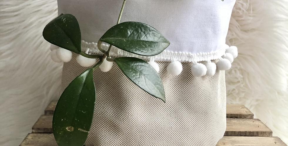 Pixel & Ivory Planter Sleeve