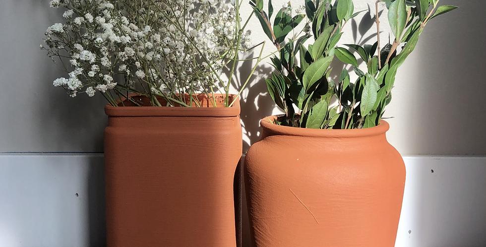 Terra Cotta Vases