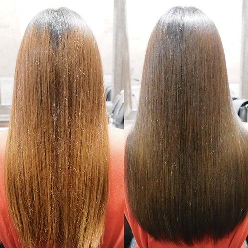 【髪質改善☆美髪トリートメント《シングル》】×カラー×カット×5stepTR