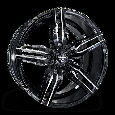 M3216 Wheel Black Polish