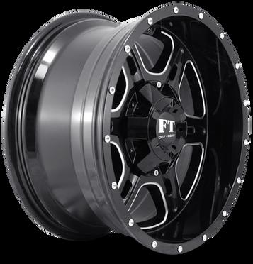 FT6054 Full Throtle Wheel Black Milled