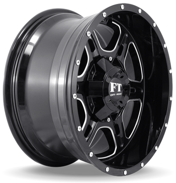 FT6054 Full Throtle Wheel Black Milled