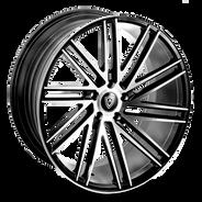 M3307 Wheel Black Polish