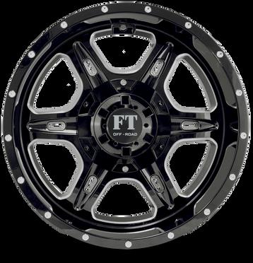 FT6054 Full Throtle Wheel Black MilledFT6054 Full Throtle Wheel Black Milled