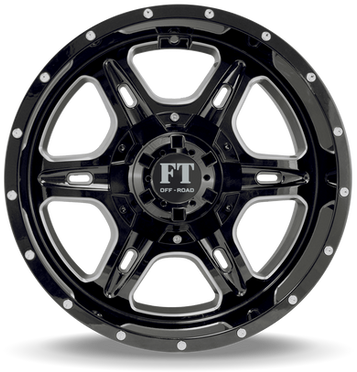 FT6054 Full Throtle Wheel Black MilledFT6054 Full Throtle Wheel Black Milled
