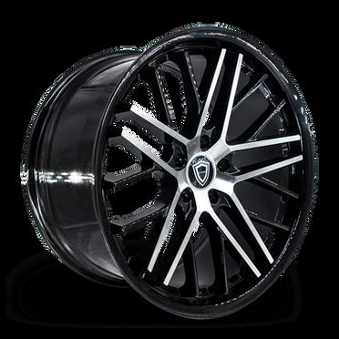 C0104 Wheel Black Polish