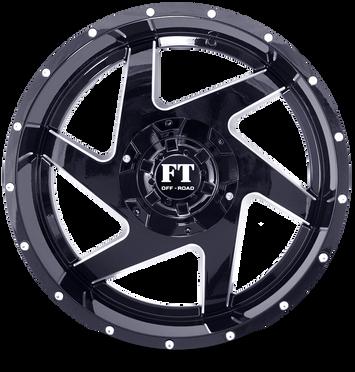 FT6052 Full Throtle Wheel Black Milled