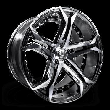 M3284 Wheel Black Polish