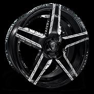 M3275 Wheel Black Polish