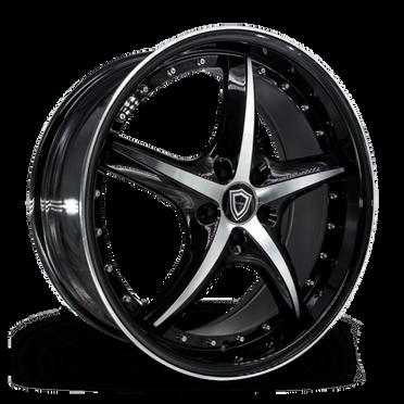 C5193 Wheel Black Polish