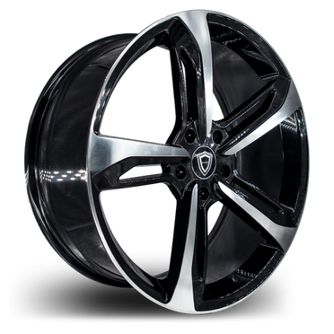 C5191 Wheel Black Polish