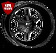 FT3 Full Throtle Wheel Black Milled
