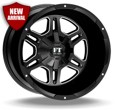 FT3 Full Throtle Wheel Black Milled