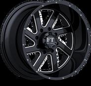 FT1 Full Throtle Wheel Black Milled
