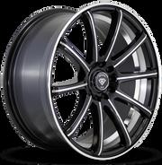 W3195 White Diamond Wheel Black Polish