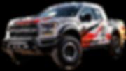 F150 Raptor Showing Off Road Tires