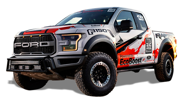 F150 Raptor Showing Off Road Tires