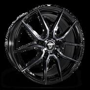 M5327 Wheel Black Polish