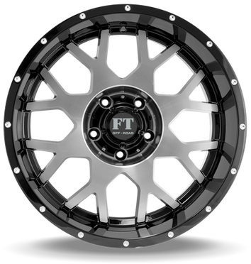 FT0151 Full Throtle Wheel Black Milled