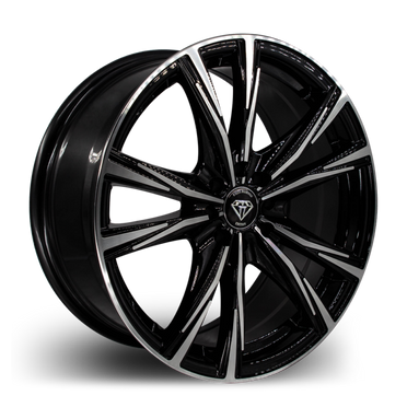 W2750 White Diamond Wheel (Polish Face/Black)