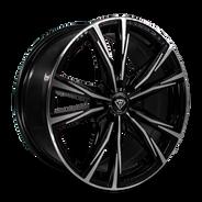 W2750 White Diamond Wheel (Polish Face/Black)