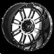 FT8033 Full Throtle Wheel Black Polish
