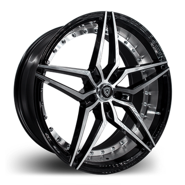 M3259 Wheel Black Polish