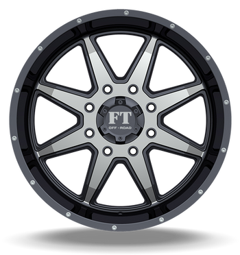 FT2 Full Throtle Wheel Black Polish