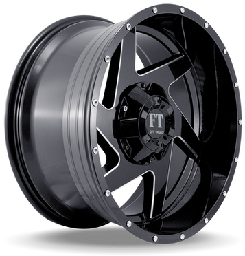 FT6052 Full Throtle Wheel Black Milled