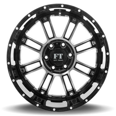 FT8033 Full Throtle Wheel Black Polish