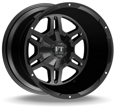 FT3 Full Throtle Wheel Black