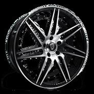 M3266 Wheel Black Polish