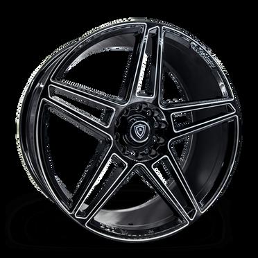 M3764 Wheel Black Milled