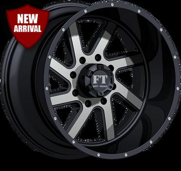FT1 Full Throtle Wheel Black Polish