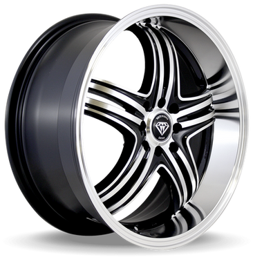 W288 White Diamond Wheel (Black Machine)